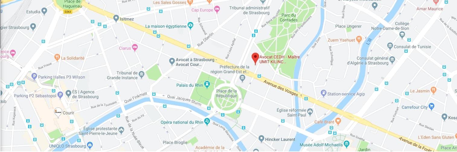 Capture kilinc avocat map adresse strasbourg